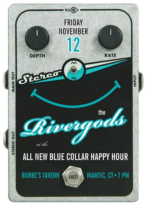 The Rivergods return to the Blue Collar Happy Hour Friday, Nov. 12!